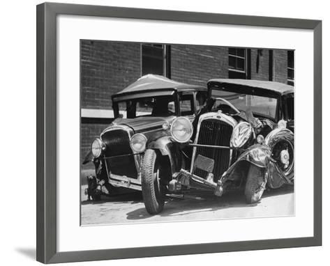 Wrecked Cars-FPG-Framed Art Print