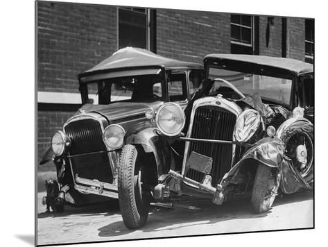 Wrecked Cars-FPG-Mounted Photographic Print