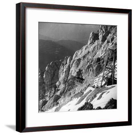 Zugspitze-Keystone-Framed Art Print