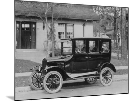 Model T Ford-Three Lions-Mounted Photographic Print