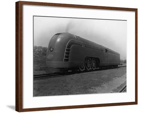 Mercury Railroad Car-A. E. French-Framed Art Print