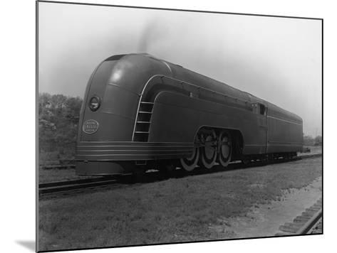 Mercury Railroad Car-A. E. French-Mounted Photographic Print