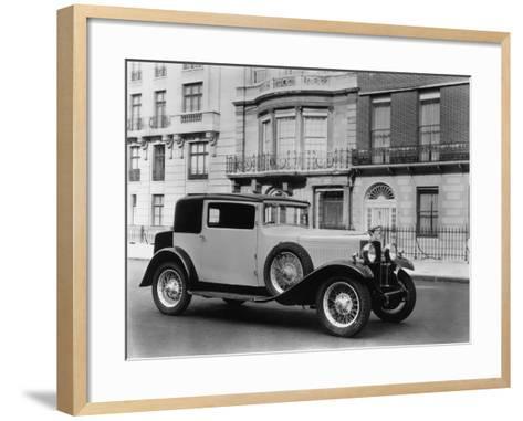Vauxhall Motor-Car-Sasha-Framed Art Print