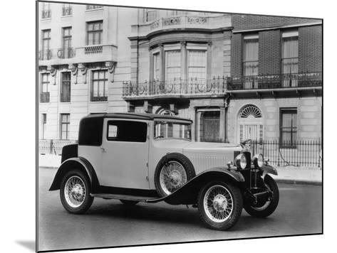 Vauxhall Motor-Car-Sasha-Mounted Photographic Print
