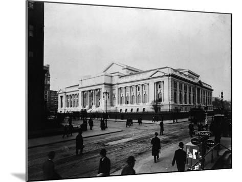 New York Public Library Main Branch-FPG-Mounted Photographic Print