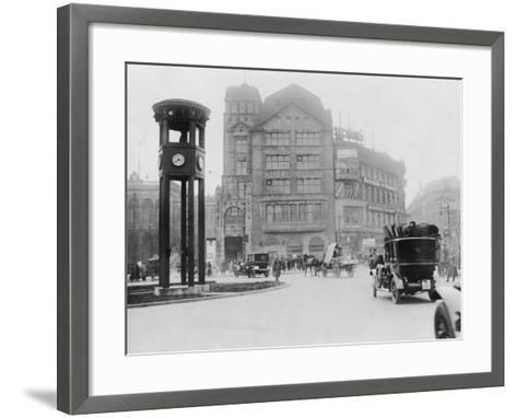 Potsdamer Platz-General Photographic Agency-Framed Art Print