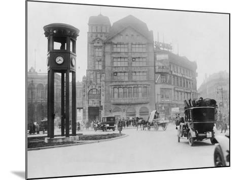 Potsdamer Platz-General Photographic Agency-Mounted Photographic Print