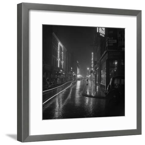 Soho by Night-BIPS-Framed Art Print