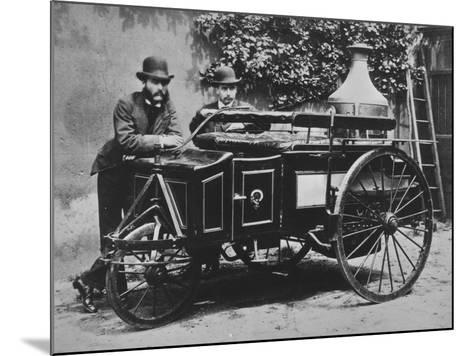 Steam Wagon-Hulton Archive-Mounted Photographic Print