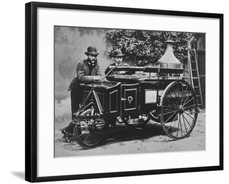 Steam Wagon-Hulton Archive-Framed Art Print