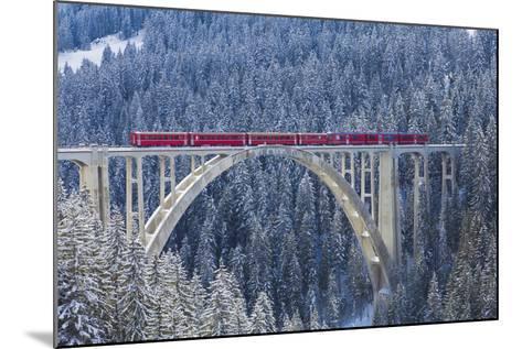 Langwies Viaduct, Switzerland-Werner Dieterich-Mounted Photographic Print