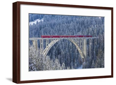 Langwies Viaduct, Switzerland-Werner Dieterich-Framed Art Print