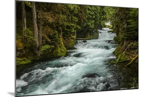 Sahale Falls in Central Oregon-Bob Pool-Mounted Photographic Print