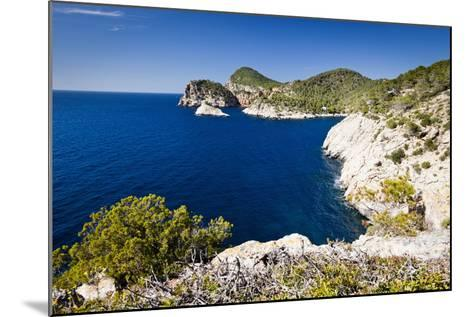 Ibiza Coastline at Cap Nono-Jorg Greuel-Mounted Photographic Print