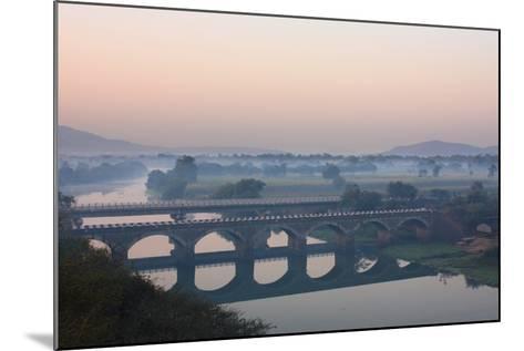 Indryani River-Photograph by Nilanjan Sasmal-Mounted Photographic Print