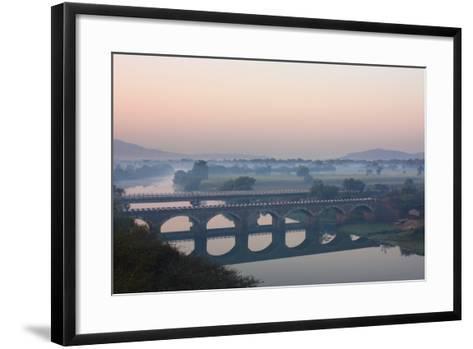 Indryani River-Photograph by Nilanjan Sasmal-Framed Art Print