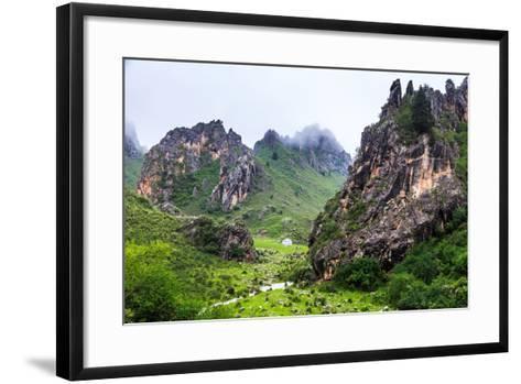 Namo Grand Canyon, Sichuan China-Feng Wei Photography-Framed Art Print