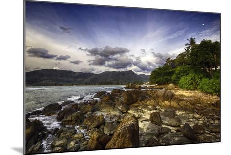 South Kamala Beach-Australian Land, City, People Scape Photographer-Mounted Photographic Print