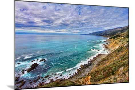 The Pacific Ocean-David Toussaint-Mounted Photographic Print