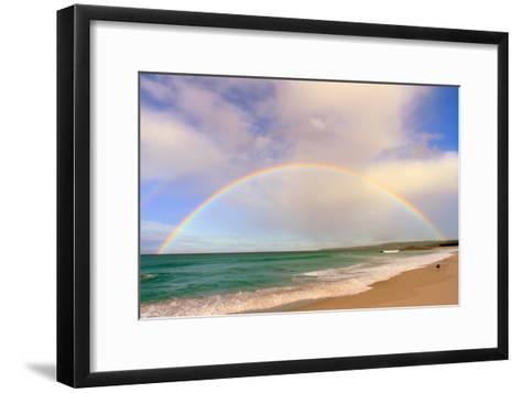 Rainbow Australia-tim phillips photos-Framed Art Print