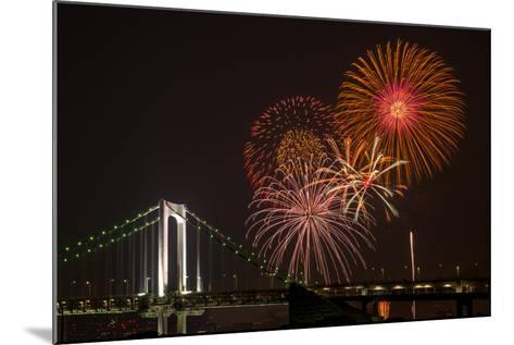 Tokyo Bay Grand Fireworks Festival 2013-I love Photo and Apple.-Mounted Photographic Print