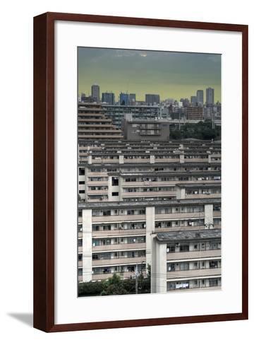 Southeastern Tokyo Buildings-Chris Jongkind-Framed Art Print