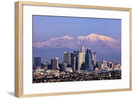 Cityscape, Los Angeles-kenny hung photography-Framed Art Print
