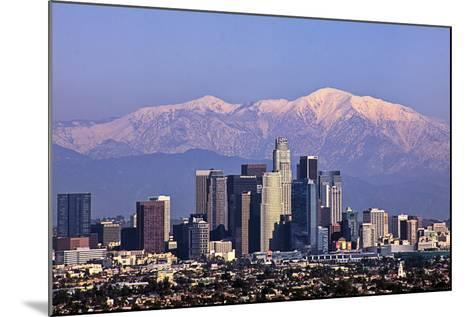 Cityscape, Los Angeles-kenny hung photography-Mounted Photographic Print