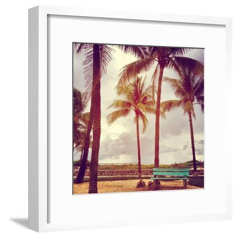 South Beach-David Kozlowski-Framed Art Print