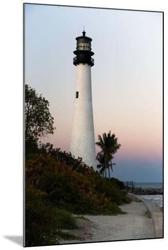 Key Biscayne Lighthouse-Steven Trainoff Ph.D.-Mounted Photographic Print