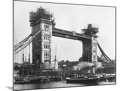 Tower Bridge--Mounted Photographic Print