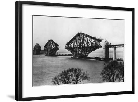 Forth Bridge-Hulton Archive-Framed Art Print