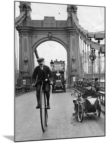 Penny Farthing-Hulton Archive-Mounted Photographic Print