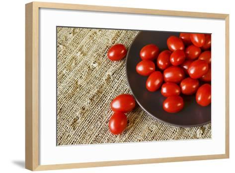 Red Grape Tomatoes-Natalia Ganelin-Framed Art Print