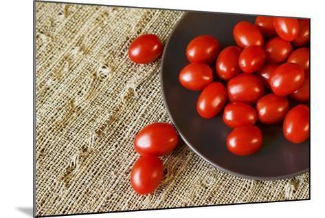Red Grape Tomatoes-Natalia Ganelin-Mounted Photographic Print