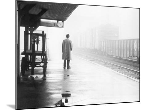 Lonely Commuter-FPG-Mounted Photographic Print