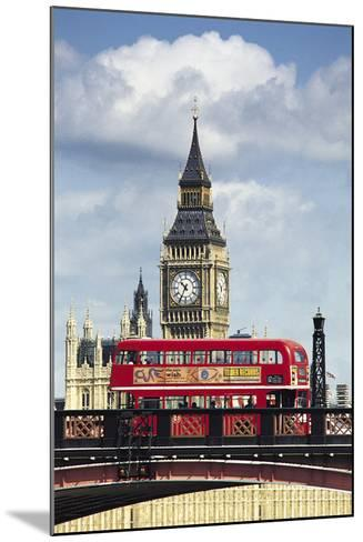 Big Ben, London, England, UK-Digital Vision.-Mounted Photographic Print