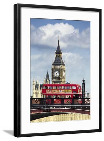 Big Ben, London, England, UK-Digital Vision.-Framed Art Print