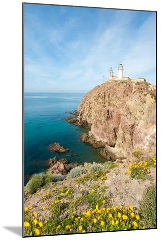 Cape of Gata Lighthouse in Andaluc??A, Spain-Asier-Mounted Photographic Print