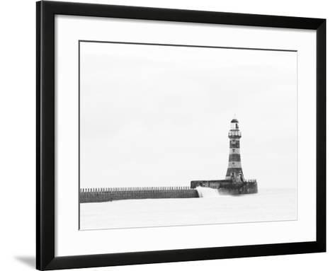 Roker Pier and Lighthouse, Sunderland, UK-Jason Friend Photography Ltd-Framed Art Print