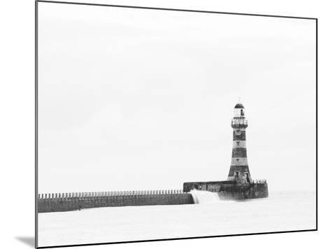 Roker Pier and Lighthouse, Sunderland, UK-Jason Friend Photography Ltd-Mounted Photographic Print