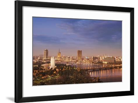 Cairo Skyline-Visions Of Our Land-Framed Art Print