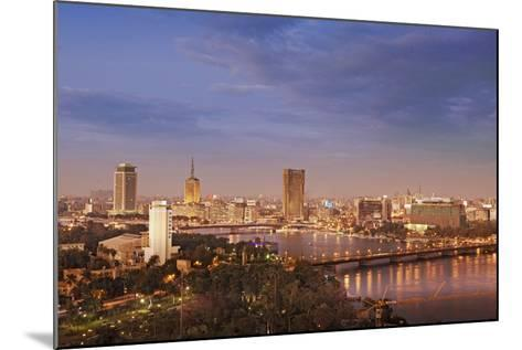 Cairo Skyline-Visions Of Our Land-Mounted Photographic Print