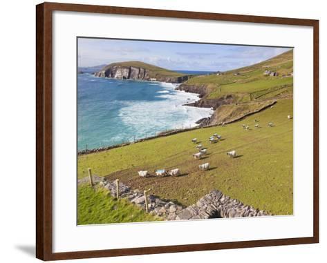 Near Slea Head, Dingle Peninsula, Ireland-Ken Welsh-Framed Art Print