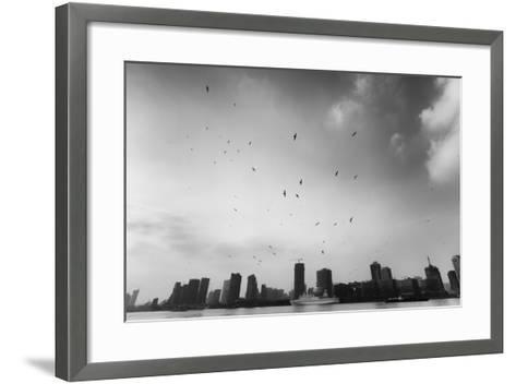 Hover-Blackstation-Framed Art Print