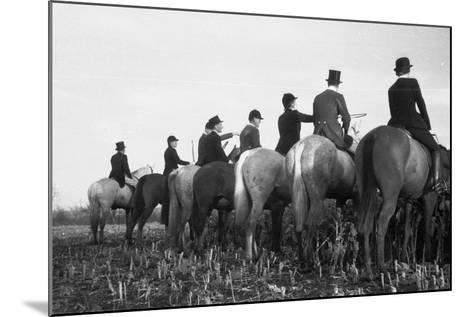 Waiting and Watching-John Chillingworth-Mounted Photographic Print