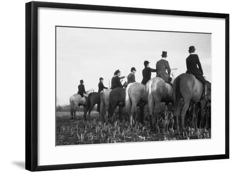 Waiting and Watching-John Chillingworth-Framed Art Print