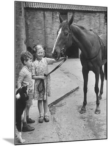 Child's Horse-Raymond Kleboe-Mounted Photographic Print