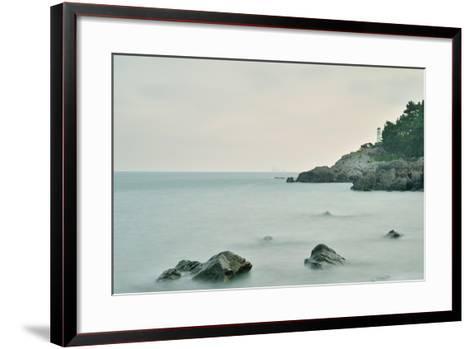 Heaundae-Copyright reserved at goldsine@hanmail.net-Framed Art Print