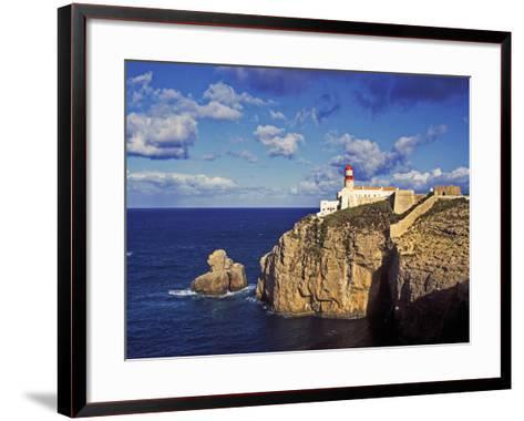 Farol De Cabo De Sao Vicente, Algarve, Portugal-Hans Peter Merten-Framed Art Print